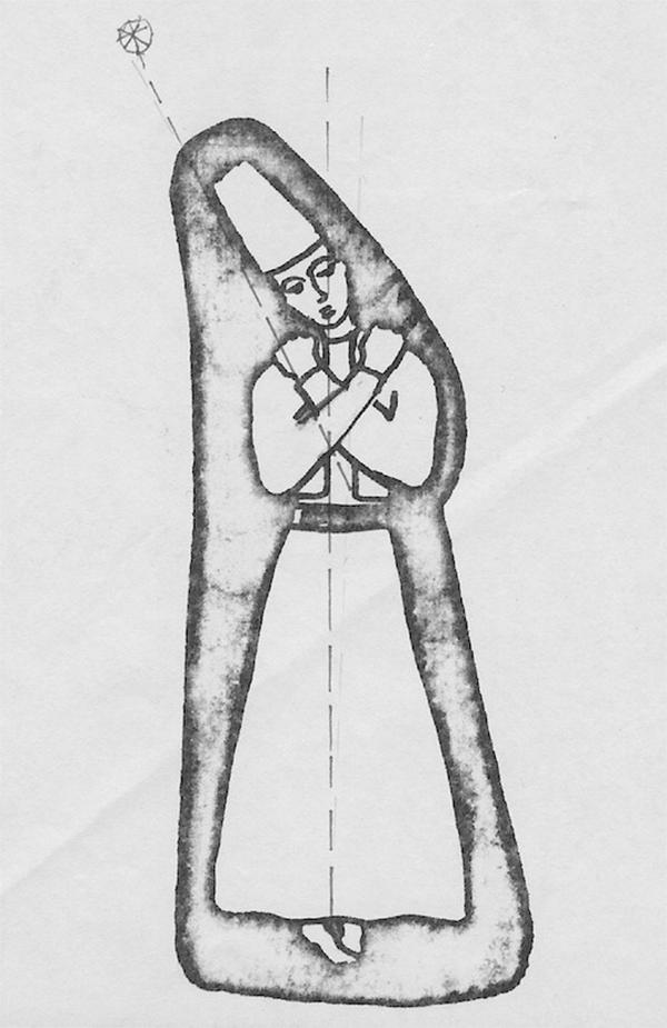 Zeichnung Derwisch -2