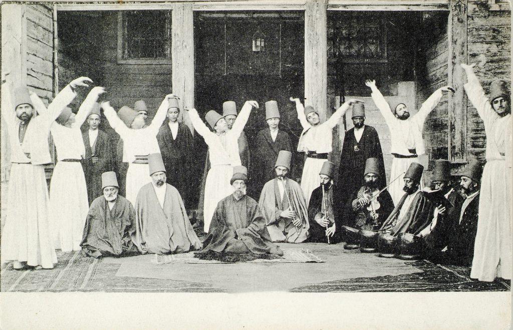 Derwische, Türkei, vor 1925